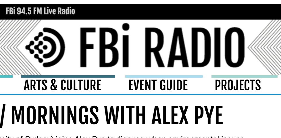 FBi – Mornings (with Alex Pye)