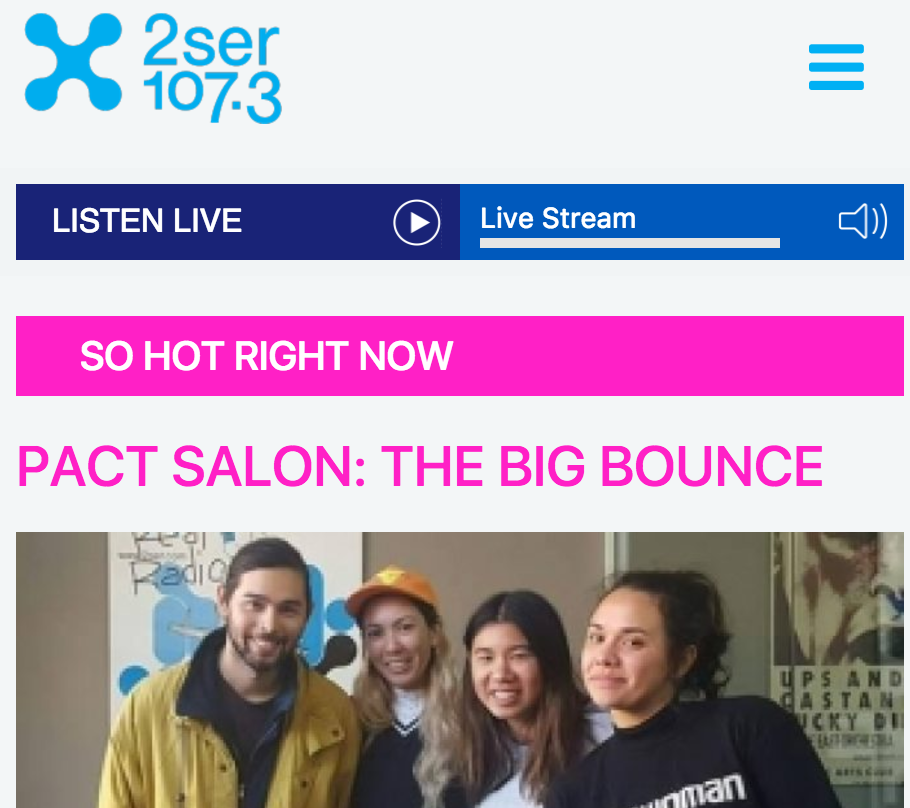 2SER – So Hot Right Now